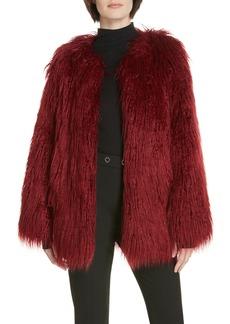 Hugo Boss HUGO Fabea Faux Fur Coat