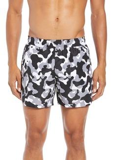 Hugo Boss HUGO Grenada Regular Fit Camo Print Swim Shorts
