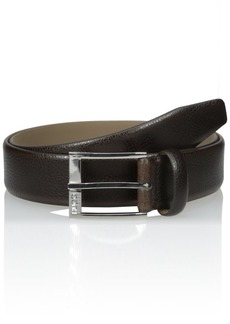 HUGO Hugo Boss Men's C-elloy Embossed Leather Belt(US)/85(UK)