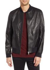 hugo boss lachlan leather jacket