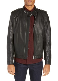 Hugo Boss HUGO Lector Slim Leather Jacket