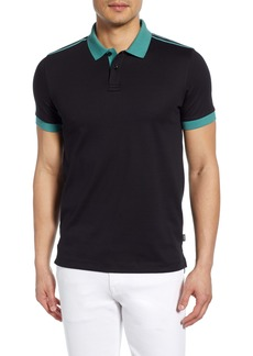 Hugo Boss BOSS Phillipson Taped Slim Fit Polo