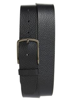 Hugo Boss HUGO Sander Pebbled Leather Belt