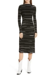 Hugo Boss HUGO Silby Stripe Sweater Dress