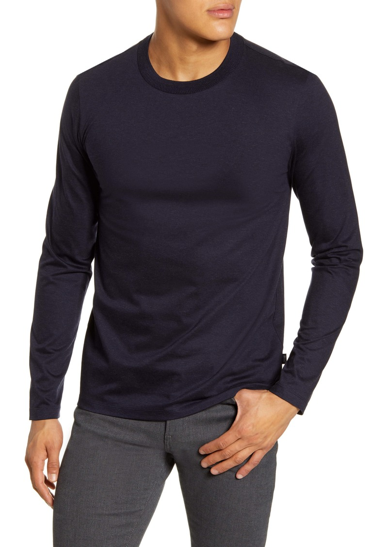 Hugo Boss HUGO Tenison 20 Slim Fit Long Sleeve Tee