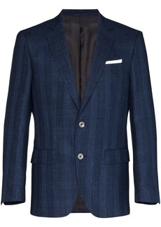 Hugo Boss Hutson checked blazer