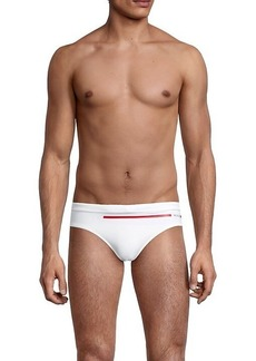 Hugo Boss Ipanema Logo Stripe Swim Briefs