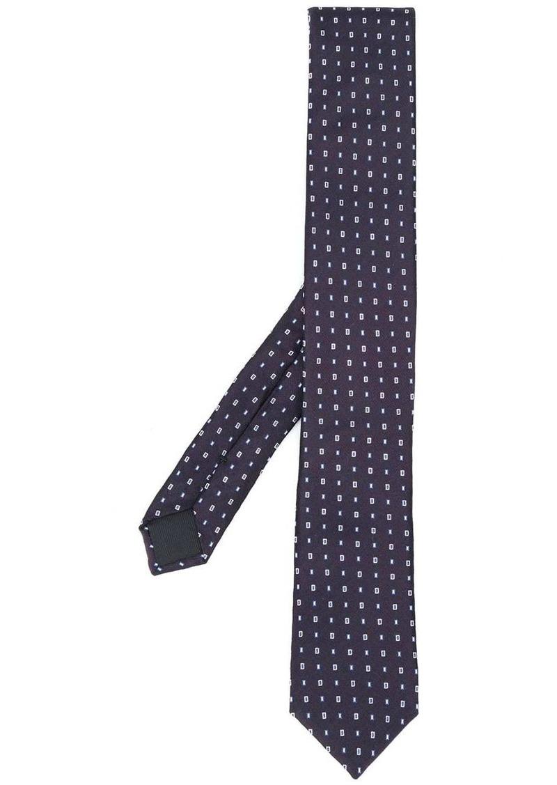 Hugo Boss jacquard woven tie