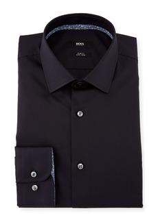 Hugo Boss Jesse Contrast-Trim Solid Dress Shirt
