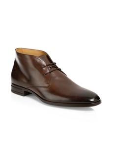 Hugo Boss Kensington Leather Desert Boot