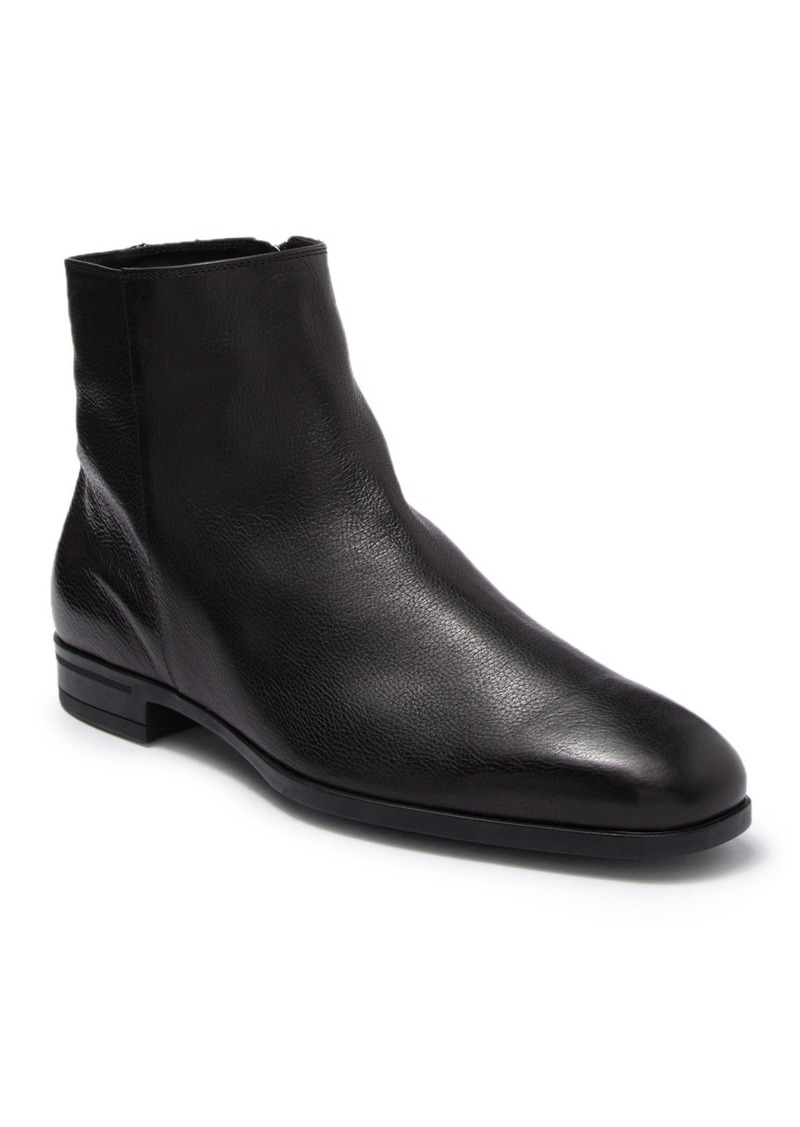 Hugo Boss Kensington Leather Zip Ankle Boot