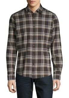 Hugo Boss Lal 47 Regular-Fit Plaid Shirt