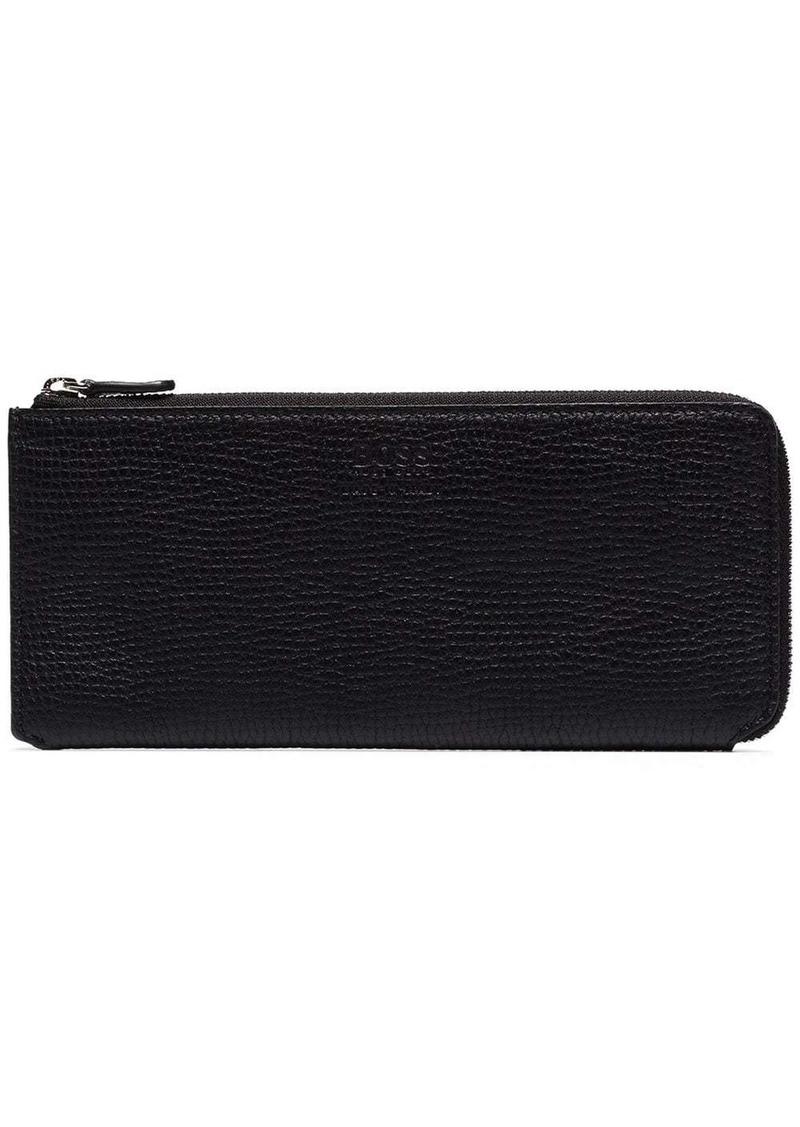 Hugo Boss large zip wallet