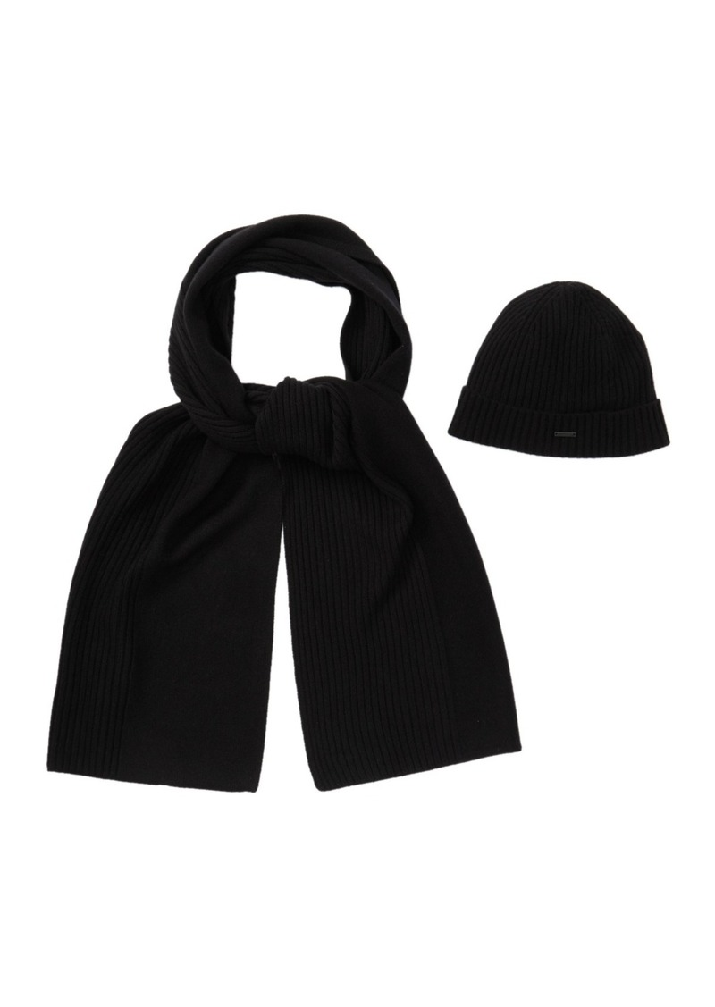 Hugo Boss Laurenzi Cashmere Scarf Set