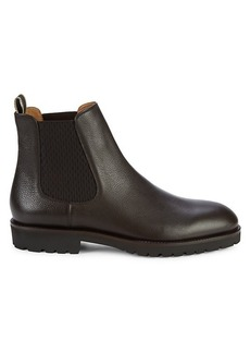 Hugo Boss Leather Chelsea Boots