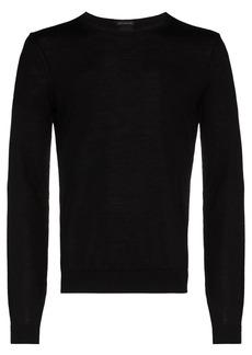 Hugo Boss Leno fine knit jumper