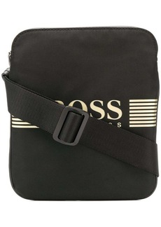 Hugo Boss logo-appliquéd crossbody bag