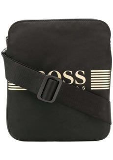Hugo Boss logo-appliquéd crossbody bag