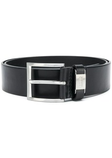Hugo Boss logo buckled belt