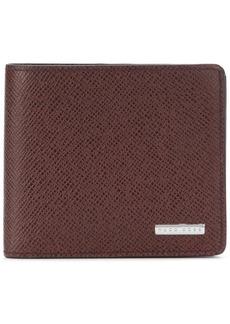 Hugo Boss logo plaque wallet