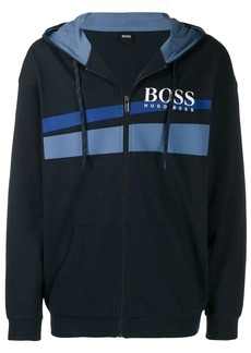 Hugo Boss logo print jacket