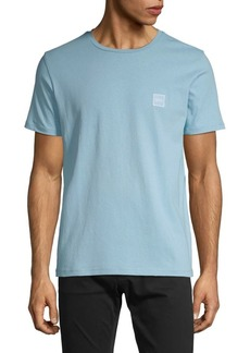 Hugo Boss Logo Short-Sleeve Cotton Tee