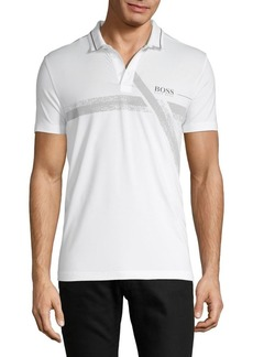 Hugo Boss Logo Slim-Fit Polo