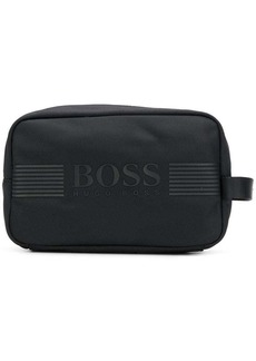 Hugo Boss logo wash bag