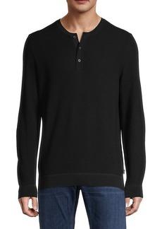 Hugo Boss Long-Sleeve Cotton Sweater