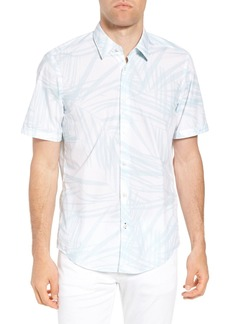Hugo Boss Luka Regular Fit Short Sleeve Sport Shirt