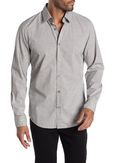 Hugo Boss Lukas Ditsy Print Regular Fit Shirt