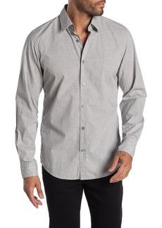 Hugo Boss Lukas Ditsy Print Regular Fit Shirt