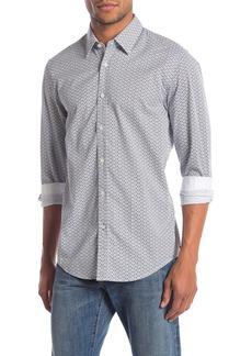 Hugo Boss Lukas Patterned Long Sleeve Regular Fit Shirt