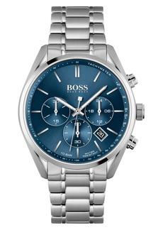 Hugo Boss Men's Boss Champion Chronograph Bracelet Watch