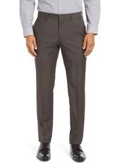 Hugo Boss Men's Boss Genesis Slim Fit Flat Front Wool Dress Pants