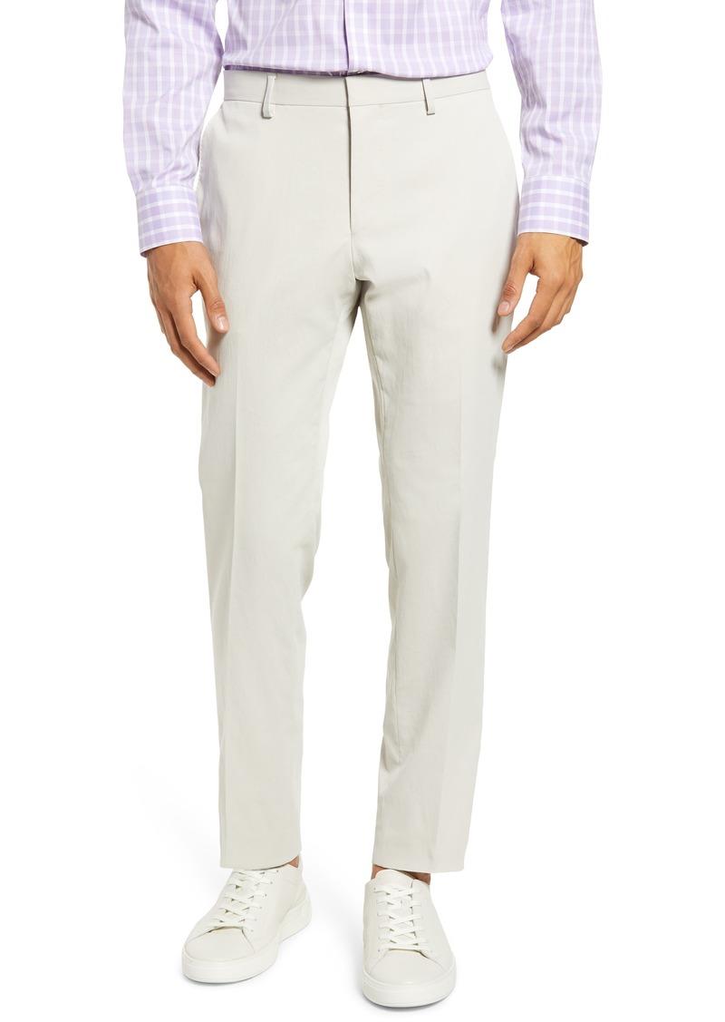 Hugo Boss Men's Boss Genius Slim Fit Flat Front Dress Pants