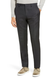 Hugo Boss Men's Boss Genius Slim Fit Flat Front Wool Dress Pants