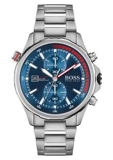 Hugo Boss Men's Boss Globetrotter Chronograph Bracelet Watch