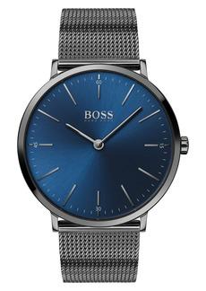Hugo Boss Men's Boss Horizon Mesh Strap Watch