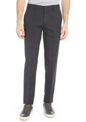Hugo Boss Men's Boss Men's Genius5 Flat Front Plaid Dress Pants