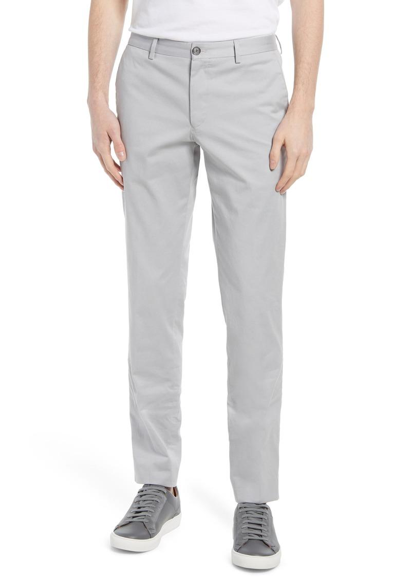 Hugo Boss Men's Boss Stanino Flat Front Stretch Cotton Dress Pants