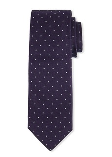 Hugo Boss Men's Dotted Silk Tie