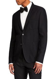Hugo Boss Men's Formal Scuba Dinner Jacket
