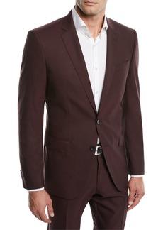 Hugo Boss Men's Huge Genius Solid Slim-Fit Two-Piece Wool Suit