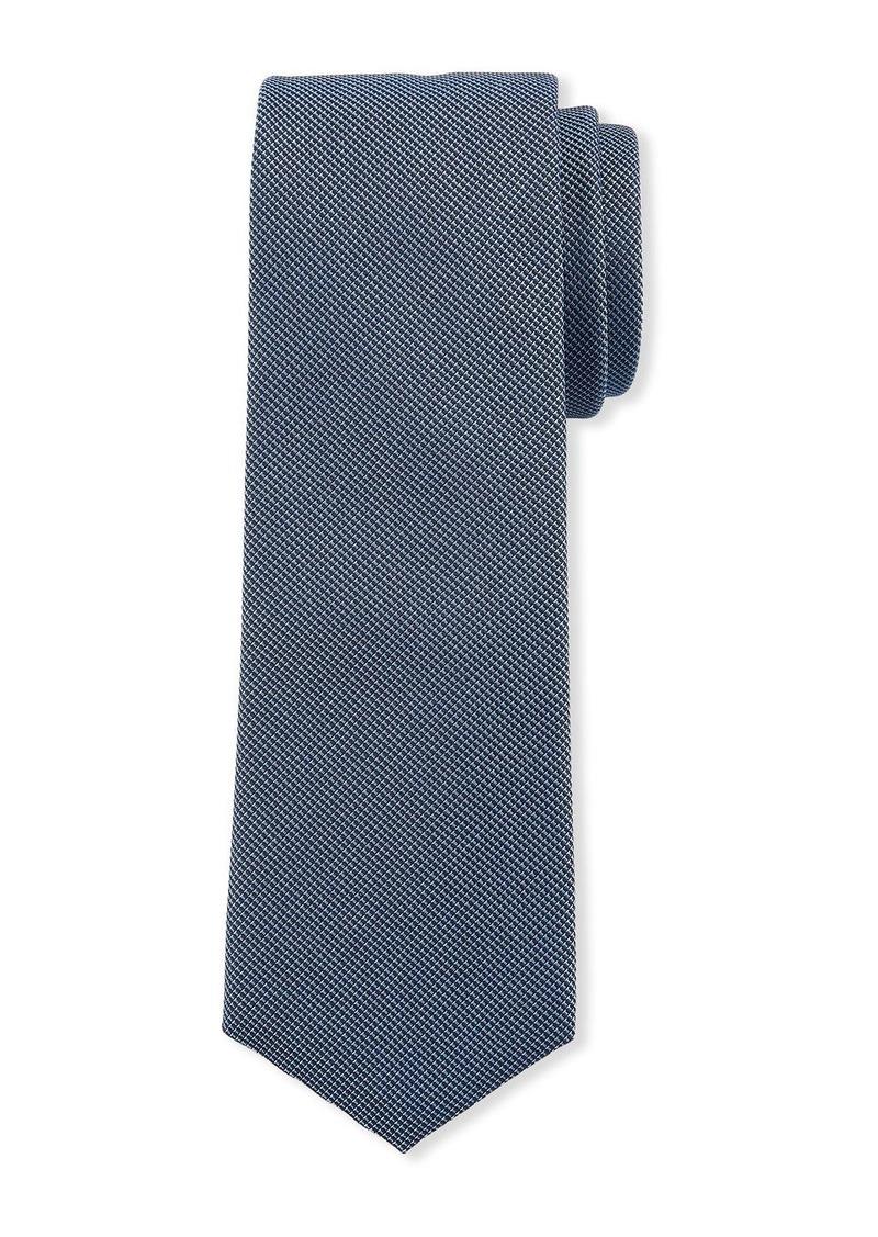 Hugo Boss Men's Micro Travel Silk Tie