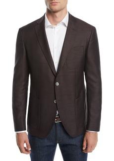 Hugo Boss Men's Patch-Pocket Two-Button Jacket