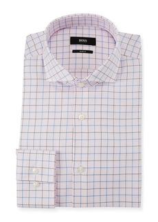 Hugo Boss Men's Slim Fit Box Cotton Dress Shirt