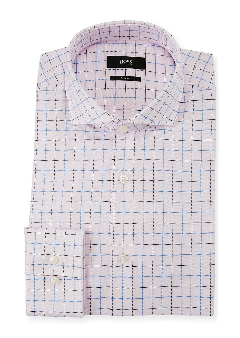 fd14f6ad Hugo Boss Men's Slim Fit Box Cotton Dress Shirt Now $66.00