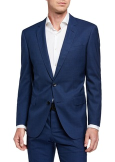 Hugo Boss Men's Slim-Fit Micro-Pattern Two-Piece Wool Suit