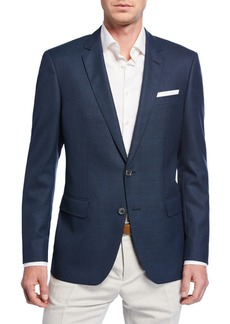 Hugo Boss Men's Slim-Fit Solid Wool Sport Coat